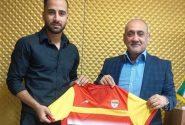 فوتبالیست مینابی یک فصل دیگر در تیم فوتبال فولاد خوزستان ماندنی شد